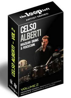 Celso Alberti Brazilian Drums and Percussion Vol.2