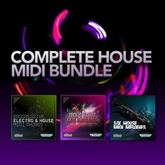 Complete House MIDI Bundle