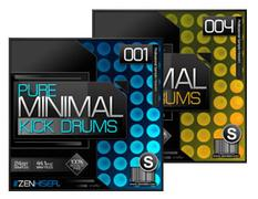 Pure Minimal Kick Drums 1 - 4