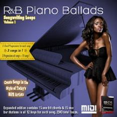 R&B Piano Ballads Songwriting Loops Vol.1